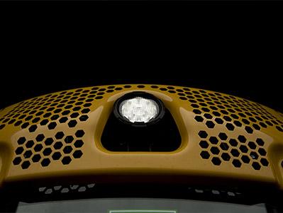 (Opcional en modelos con cabina) Mejora el confort en los días de calor. ÚNICOS EN EL MERCADO.