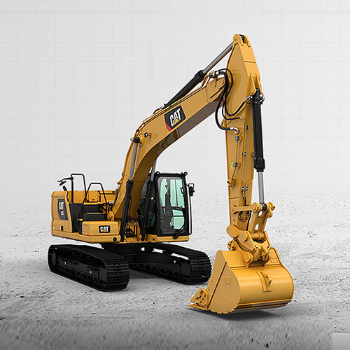 Excavadora Cat 323